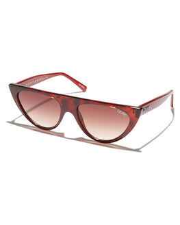 TORT BROWN WOMENS ACCESSORIES QUAY EYEWEAR SUNGLASSES - QW-000296-TRTBR