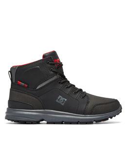 BLACK GREY RED BOARDSPORTS SNOW DC SHOES BOOTS + FOOTWEAR - ADMB700008XKSR