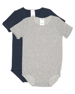 GREY MARLE HARPOON KIDS BABY BONDS CLOTHING - BXXUA15K