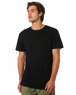 BLACK MENS CLOTHING RHYTHM TEES - JUL19M-CT03-BLK