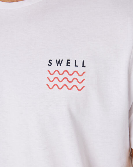 WHITE MELON OUTLET MENS SWELL TEES - S5184013WHIME