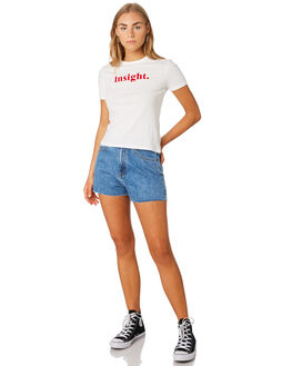 OFF WHITE WOMENS CLOTHING INSIGHT TEES - 1000083360OFWHT