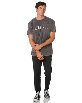 SMASHED BLACK MENS CLOTHING THE PEOPLE VS TEES - W19004SMBLK