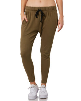 BOTTLE GREEN WOMENS CLOTHING SILENT THEORY PANTS - 6034035BGRN