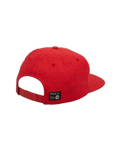 RED MENS ACCESSORIES RVCA HEADWEAR - RV-R107562-RED