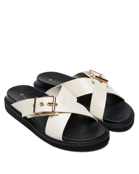 BONE CROC WOMENS FOOTWEAR BILLINI FASHION SANDALS - S685BNECR