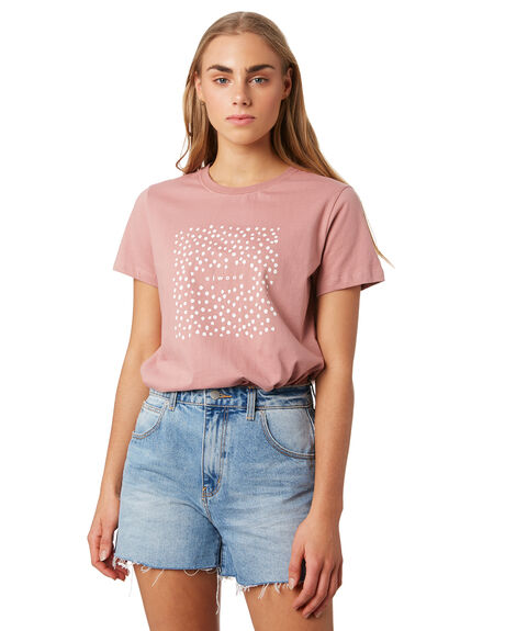 ASH ROSE WOMENS CLOTHING ELWOOD TEES - W93103-4KZ