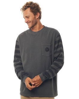 BLACK MENS CLOTHING QUIKSILVER JUMPERS - EQYFT03752KVJ0