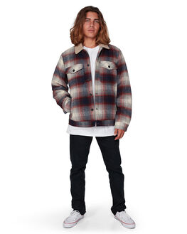 NAVY MENS CLOTHING BILLABONG JACKETS - BB-9507906-NVY