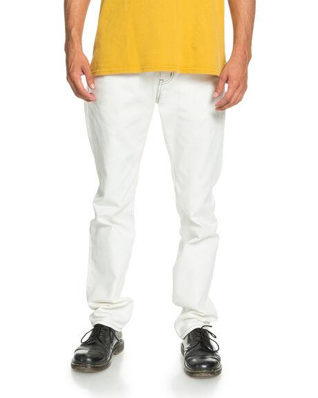 LILY WHITE MENS CLOTHING QUIKSILVER PANTS - EQYNP03202-WCQ0