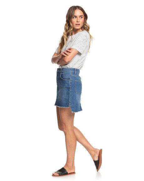 MOOD INDIGO WOMENS CLOTHING ROXY TEES - ERJZT04838-BSP1