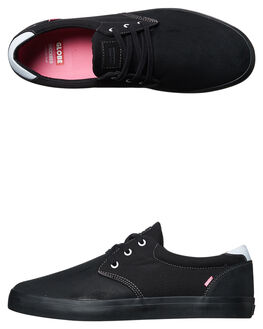 BLACK PHANTOM PINK MENS FOOTWEAR GLOBE SKATE SHOES - GBWILLOW-20307