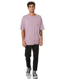 PIGMENT PLUM MENS CLOTHING NO NEWS TEES - N5202001PIGPM