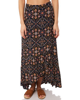 INDIGO WOMENS CLOTHING TIGERLILY SKIRTS - T381272IND