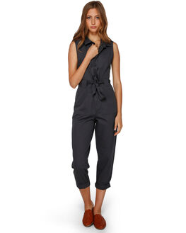 BLACK SANDS WOMENS CLOTHING BILLABONG PLAYSUITS + OVERALLS - BB-6591505-BSD