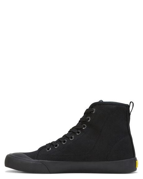 BLACK BLACK  MENS FOOTWEAR VOLLEY SNEAKERS - SSV74009B95M