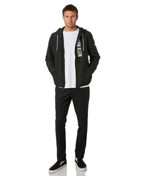 PVH BLACK MENS CLOTHING CALVIN KLEIN JACKETS - KM00597-BEH