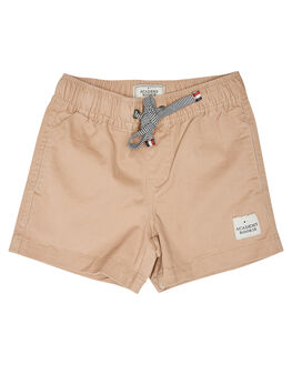 COFFEE KIDS BOYS ROOKIE BY THE ACADEMY BRAND SHORTS - R20S606COF