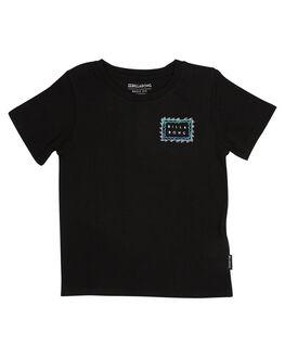 BLACK KIDS TODDLER BOYS BILLABONG TEES - 7585001BLK