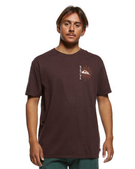 CHOCOLATE PLUM MENS CLOTHING QUIKSILVER TEES - EQYZT05465-CZH0