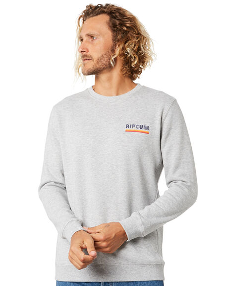 ATHLETIC HEATHER MENS CLOTHING RIP CURL JUMPERS - CFECQ94368