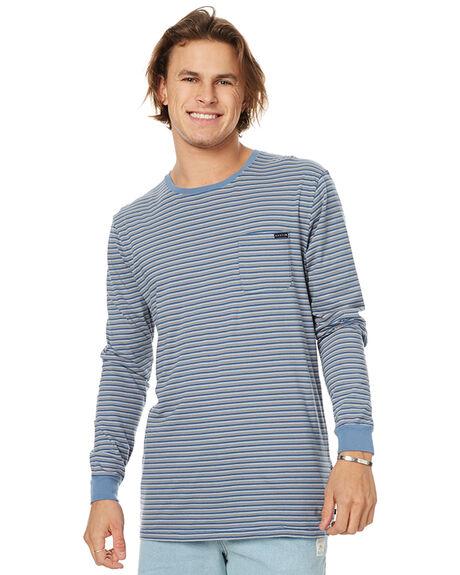 MACHINE BLUE MENS CLOTHING RUSTY TEES - TTM1869MHB