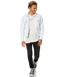 SUPER BLEACH MENS CLOTHING THE PEOPLE VS JACKETS - SS17059SBLCH