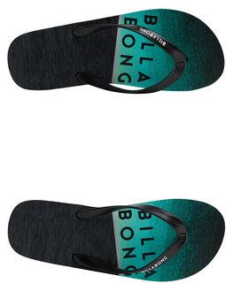 BLACK MINT MENS FOOTWEAR BILLABONG THONGS - 9692931BLKMT
