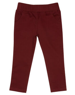BURGUNDY OUTLET KIDS LITTLE LORDS CLOTHING - AW19321BURG