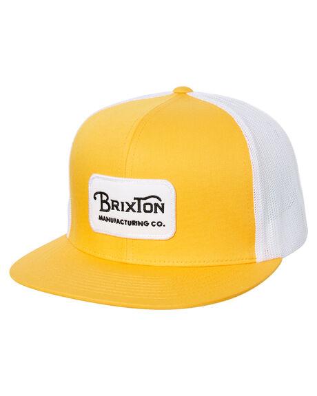NUGGET GOLD MENS ACCESSORIES BRIXTON HEADWEAR - 00232NUGLD