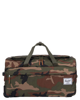 WOODLAND CAMO MENS ACCESSORIES HERSCHEL SUPPLY CO BAGS + BACKPACKS - 10307-00032-OSWOOD
