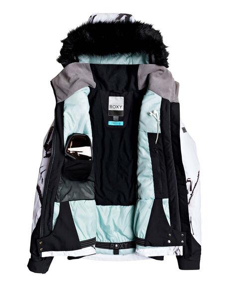 TRUE BLACK BOARDSPORTS SNOW ROXY WOMENS - ERJTJ03218-KVJ2