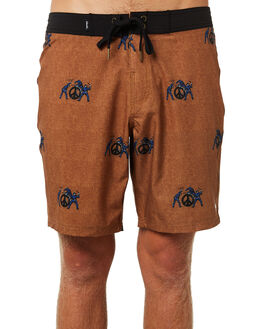 MUSTARD MENS CLOTHING AFENDS BOARDSHORTS - M184300MUS