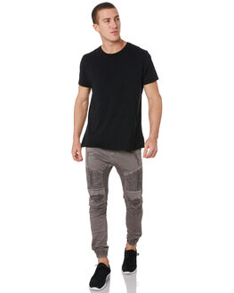 PHANTOM BLACK MENS CLOTHING NENA AND PASADENA PANTS - NPMFP001BLCK