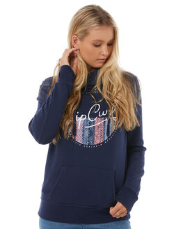 NAVY WOMENS CLOTHING RIP CURL JUMPERS - GFEGG1NAVY