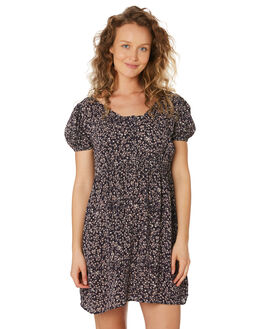 MIDNIGHT FLORAL WOMENS CLOTHING SAINT HELENA DRESSES - SHS192123MIDFL