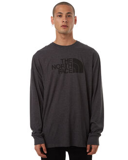 DARK GREY MENS CLOTHING THE NORTH FACE TEES - NF00CZY9FLC