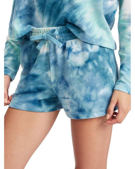 BEACH GLASS SPIRAL T WOMENS CLOTHING ROXY SHORTS - ARJNS03171-GCZ8