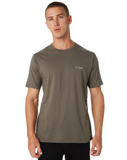 BOTTLE GREEN MENS CLOTHING BARNEY COOLS TEES - 102-CC2-BTGRN