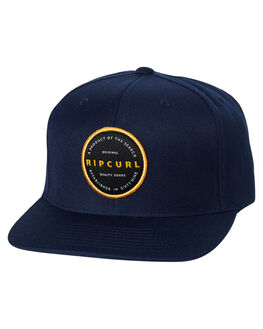 NAVY MENS ACCESSORIES RIP CURL HEADWEAR - CCAAM90049