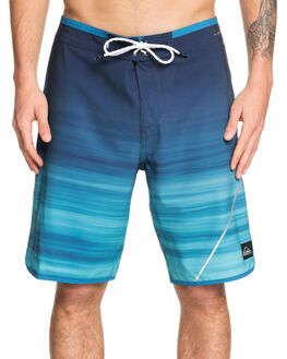CRYSTAL TEAL MENS CLOTHING QUIKSILVER BOARDSHORTS - EQYBS04088-BRN6