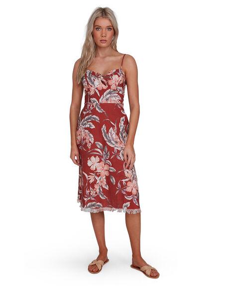 RUST WOMENS CLOTHING BILLABONG DRESSES - BB-6503464-R02