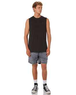 PIGMENT COAL MENS CLOTHING SWELL SINGLETS - S5201271PGCOL