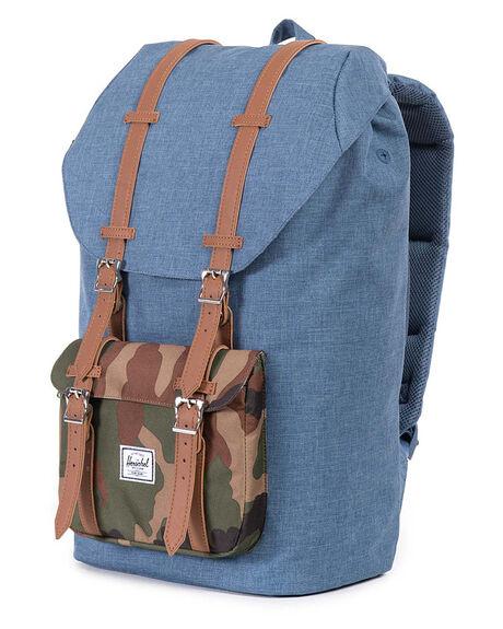 f35e775e423e Herschel Supply Co Little America Backpack - Navy Crosshatch ...