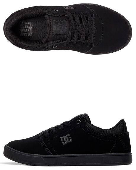 BLACK/BLACK KIDS BOYS DC SHOES SNEAKERS - ADBS100209-BB2