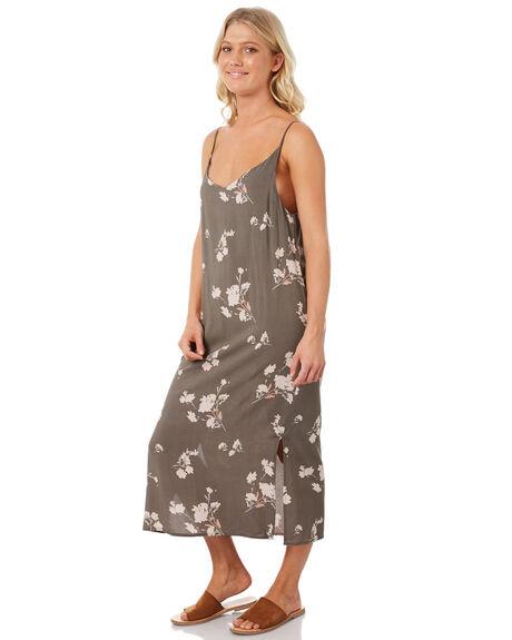 FLORAL PRINT WOMENS CLOTHING ELWOOD DRESSES - W83704-4JR