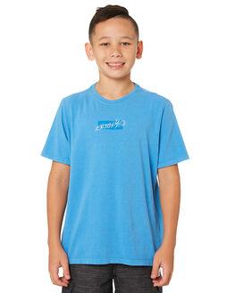 UNIVERSITY BLUE KIDS BOYS HURLEY TOPS - AQ8587-412