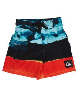 MOROCCAN BLUE KIDS TODDLER BOYS QUIKSILVER BOARDSHORTS - EQKBS03109BSG6