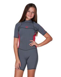 DEEP GREY/SCARLET BOARDSPORTS SURF ROXY GIRLS - ERGW503004-XKKM