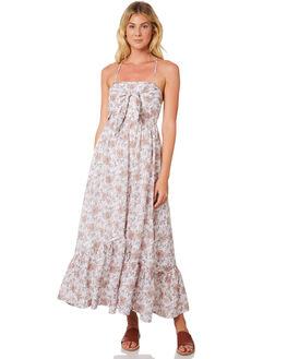 WHITE WOMENS CLOTHING TIGERLILY DRESSES - T395404WHT